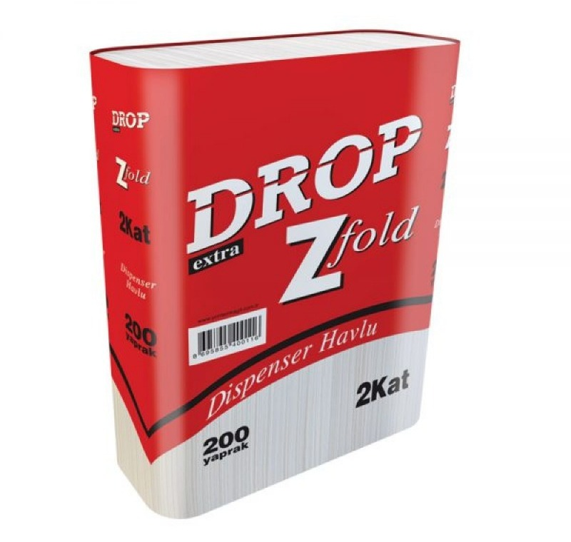 DROP Z KATLI DİSPENSER HAVLU -Drop